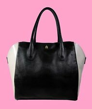FURLA Olimpia Black Tote Shopper Bag Msrp $280 * PAY ONLY 25% OF RETAIL PRICE *