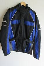 Bikers Gearbox men's motorcyle waterproof Codura textured armour jacket size XL