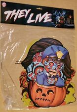 Trick or Treat Studios They Live Wall Decor Vintage Style Horror signs