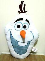 Disney Frozen Olaf Snowman 3D Character Pillow Cushion Soft Stuffed Plush Toy