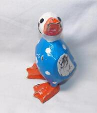 GRINGO FAIR TRADE HAND CARVED WOODEN DUCK STATUE FROM INDONESIA