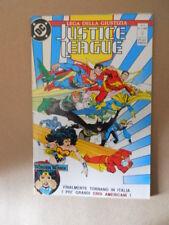 JUSTICE LEAGUE Lega della Giustizia n°1 1990 Dc Play Press  [G108C]