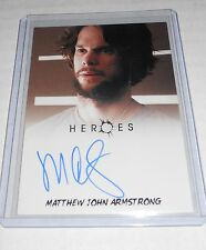 Heroes Tv-Show Autograph Trading Card Matthew John Armstrong as Ted Sprague