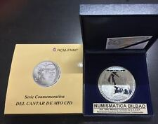 ESPAÑA 50 EUROS 2007 CANTAR DEL MIO CID CATEDRAL BURGOS PLATA PROOF CINCUENTIN