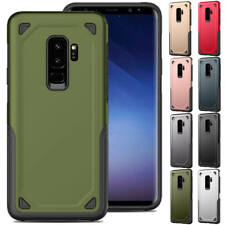 For Samsung Galaxy S8 S9+ Plus S7 Edge Tough Shockproof Rugged Armor Case Cover