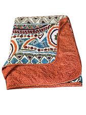 3 Piece Bohemian Design Full Queen Boho Bedding