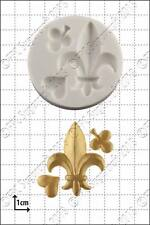 Silicone mould Fleur-de-Lys | Food Use FPC Sugarcraft FREE UK shipping!