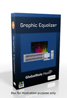 Graphic equalizer virtual soundcard software program for windows desktop lapt PC