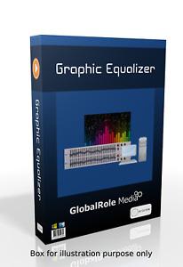 Graphic equalizer virtual soundcard software program for windows desktop lapt PC