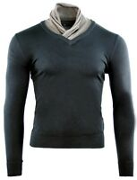 PULL HOMME COL MONTANT NEUF T.XL NEUF CIPO CARDIGAN GILET PULLOVER CACHEMIRE