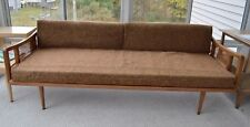 Mid Century Danish Modern Daybed Couch Sofa with Cushions
