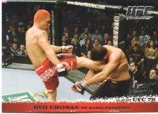 2009 TOPPS UFC ROUND 1 ROOKIE RC DEBUT RYO CHONAN #72