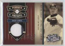 2004 Donruss Leather & Lumber Pennants/Pinstripes Materials /250 Roger Clemens