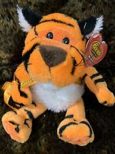 """""""Reeses Tiger Plush"""" Orange Striped Stuffed Animal Soft Talking Singing Toy"""