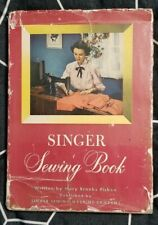 Singer Sewing Book Mary Brooks Picken 1949 (Hardcover, with Jacket, Vintage)