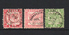 Baden (Germany) 3 Early Stamps Used