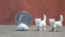 Dollhouse Miniature Cat Kittens Animals B19 1:24 1:12 3/4 in tall Dollys Gallery