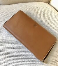 ★ Carolina Herrera  ★ Wallet Leather Bolso Bag Cartera Piel Impecable ★