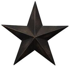 "24"" BLACK METAL BARN STAR"