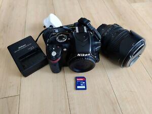 Nikon D3200 24.2MP Digital SLR Camera with 18-105mm Lens
