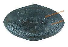 Plaque en fonte COMICE AGRICOLE 1er Prix élevage old French farm iron cast plate