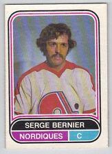 75-76 OPC O-Pee-Chee WHA Serge Bernier #60 (VG - Ex)