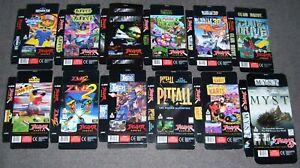 Atari Jaguar 64-Bit Games Console 12 x Original Game Boxes ALL NEW Cybermorph