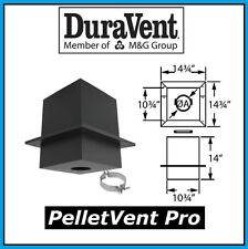 """DURAVENT PELLETVENT PRO Pipe 3"""" Diameter Cathedral Support Box #3PVP-CS NEW!"""