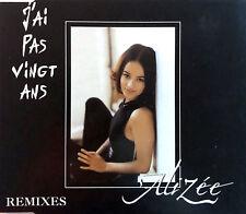 Alizée Maxi CD J'Ai Pas Vingt Ans (Remixes) - France (EX/G+)