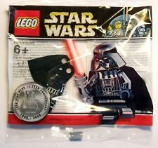 LEGO Star Wars Chrome Darth Vader Minifigure 10th Anniversary Rare NEW