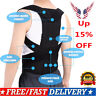 US Posture Corrector Corset Support Back Shoulder Brace Belt For Men Women 2019
