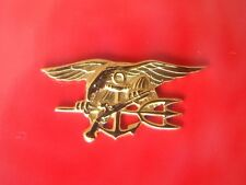 Usn Us Navy Seal Special Warfare Operator Mess Dress Mini Qualification Badge G