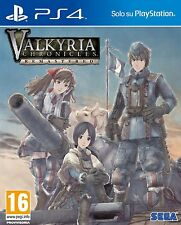 Valkyria Chronicles Europa Edition   PlayStation 4  PS4     nuovo!!!