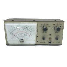 Vintage Heathkit Im 28 Vtvm Vacuum Tube Voltmeter Powers On Read