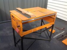 Triton MK3 Workcentre/ Work Bench & 235mm Saw + Router Table + Extension Table
