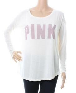 Victorias Secret PINK Slouchy Long Sleeve Top Shirt