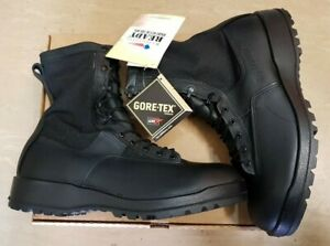 NEW American Army Belleville Leather Goretex Vibram Jungle Combat Boots 11.5 R