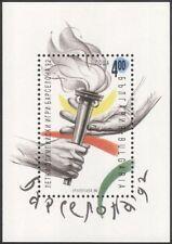 Bulgaria 1992 Juegos Olímpicos/Olimpiadas/Antorcha/manos/Deportes/llama 1v m/s (n44605)