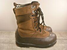 LaCrosse Alpha Iceman Men's Waterproof Leather Snow Industrial Work Boots Size 8