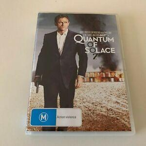 QUANTUM OF SOLACE   DVD Bond movie