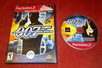 007 James Bond in Agent Under Fire (PlayStation 2, 2002) No Manual *TESTED*