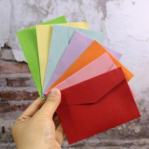 10pcs Paper Blank Mini Paper Envelope Wedding Party Invitation Greeting Card