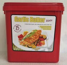 Middleton Foods 🌾 GARLIC BUTTER Meat Glaze Marinade Seasoning Mix 2.5kg Red Tub