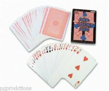 "7"" X 5"" Jumbo Deck Of Playing Cards Big Size Magic Trick Poker Joke Giant Gag"