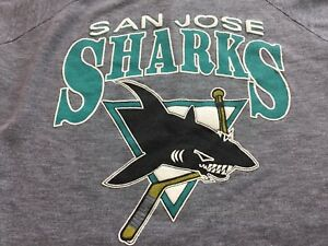 San Jose Sharks Large/XLARGE Vintage Hockey  NHL Venice Muscle Beach California