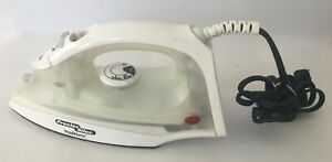 Proctor Silex Traditions Steam White  Iron Model 17290 E1 AS IS Condition E1