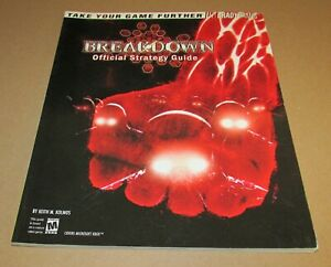 Breakdown Official Strategy Guide for Xbox