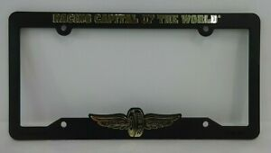 Indianapolis Motor Speedway Collector Plastic License Plate Frame Indy 500