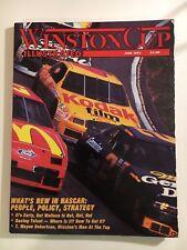 WINSTON CUP ILLUSTRATED PAPERBACK MAGAZINE - JUNE 1993