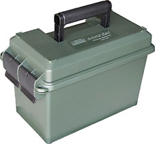 MTM Caliber Ammo Can Padlock Box Case Plastic Military Green Storage Shoot 50